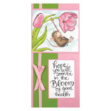 Stampendous, Spring Swing Cling Stamp - Scrapbooking Fairies