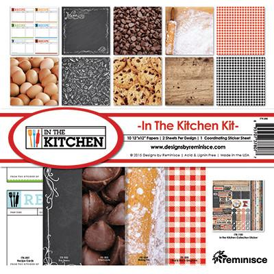 "Reminisce Collection Kit 12""X12"", In The Kitchen"