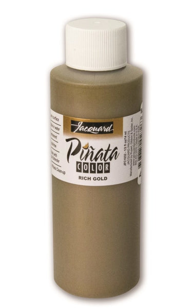 Jacquard Pinata Color Alcohol Ink 4oz, Rich Gold