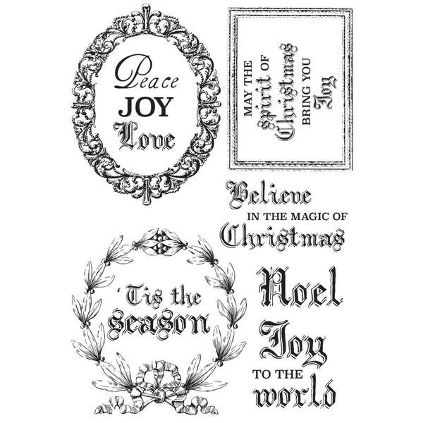Kaisercraft, Clear Stamp, Letters To Santa - Scrapbooking Fairies