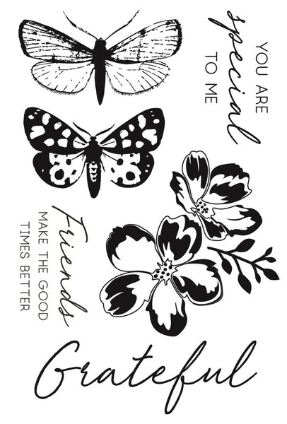 "Kaisercraft Clear Stamp 6""X4"", Morning Dew"
