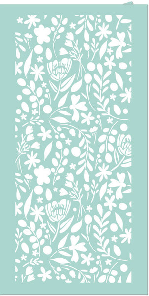 "Stamperia Stencil 4.72""X9.84"", Small Flowers, Love Story"