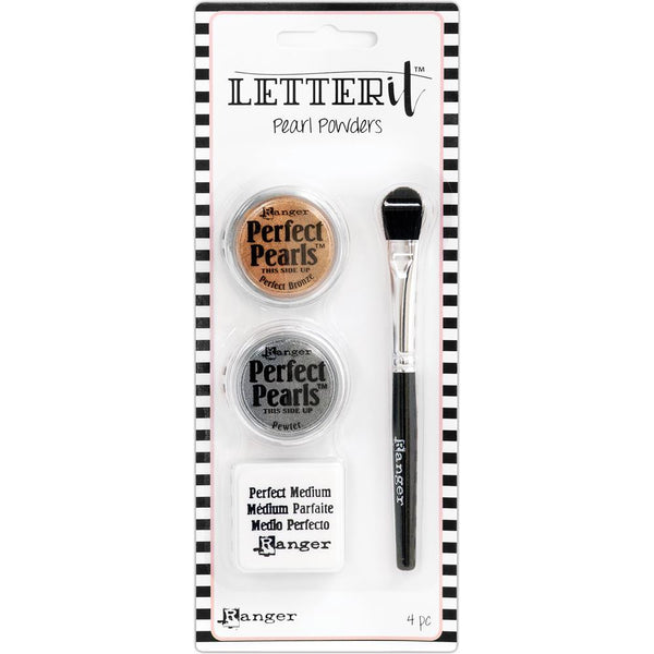 Ranger Letter It Pearls Powder Set, #1