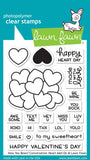 Lawn Fawn, How You Been? Conversation Heart Add-on, Clear Stamps - Scrapbooking Fairies