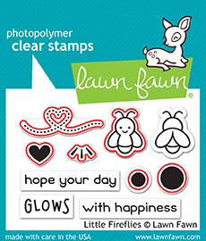 Lawn Fawn, Clear Stamps and Dies Combo, Little Fireflies (LF1593 & LF1594)