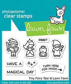 Lawn Fawn, Tiny Fairy Tale, Stamps & Dies Combo