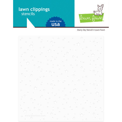 Lawn Fawn, Lawn Clippings Stencils, Starry Sky