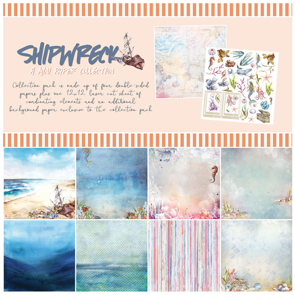 "49 And Market Collection Pack 12""X12"", Shipwreck"