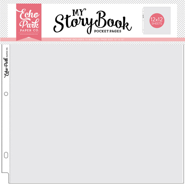 "12""x12"" Pockets - 12""x12"" Pocket Page 10 Sheet Pack - Scrapbooking Fairies"