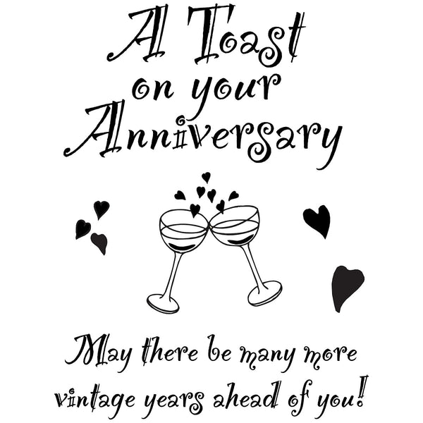 My Sentiments Exactly, Anniversary, Clear Stamps - Scrapbooking Fairies