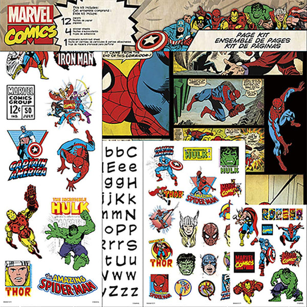 "Marvel Comics, Page Kit 12""X12"" Classic"