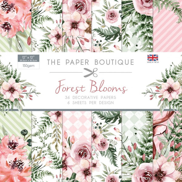 The Paper Boutique, Forest Blooms, Paper Pad