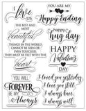 Forever & Always, Clear Stamps - Scrapbooking Fairies