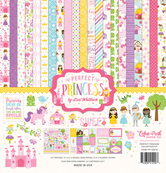 Echo Park, Perfect Princess Collection Kit - Scrapbooking Fairies