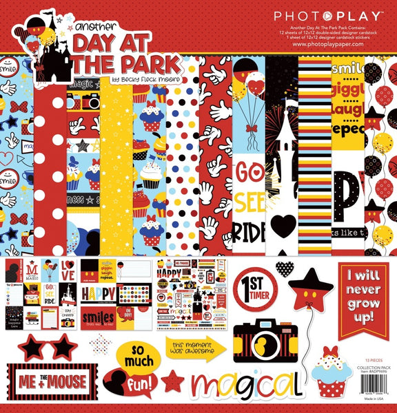 "PhotoPlay Collection Pack 12""X12"", Another Day At The Park"