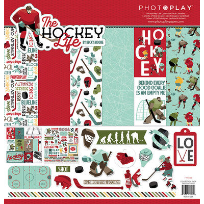 "PhotoPlay Collection Pack 12""X12"", The Hockey Life"