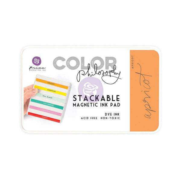 Prima, Magnetic and Stackable Ink Pad, Apricot