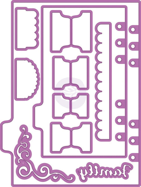Prima, My Prima Planner Metal Dies - Shapes 2