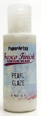PaperArtsy, Fresco Finish Chalk Acrylics Paint - Pearl Glaze
