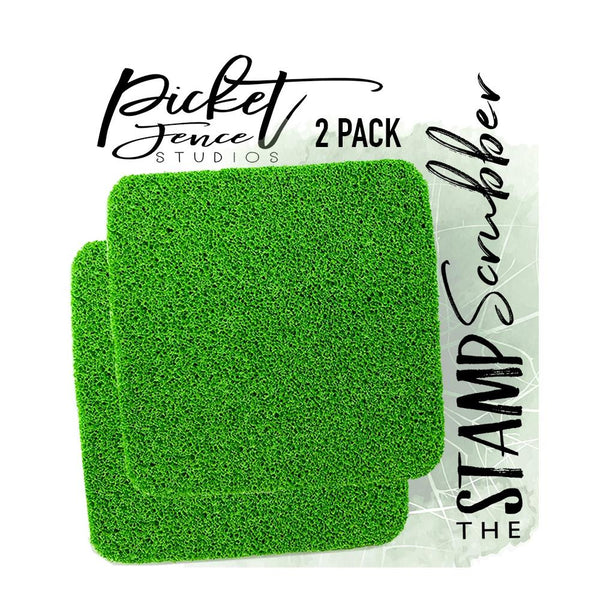 Picket Fence Studios The Stamp Scrubber 2/Pkg