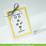 Lawn Fawn, Plan On It:  Appointments, Clear Stamps