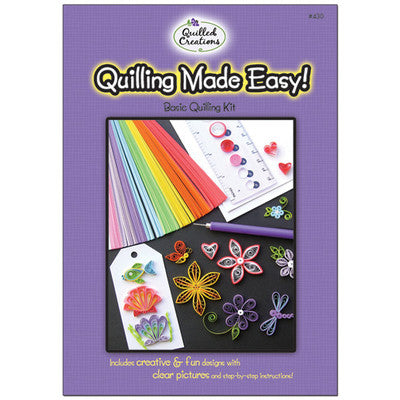 Quilled Creations Quilling Kit, Quilling Made Easy