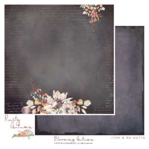 "49 and Market, Rusty Autumn Double-Sided Cardstock 12""X12"",  Blooming Autumn"