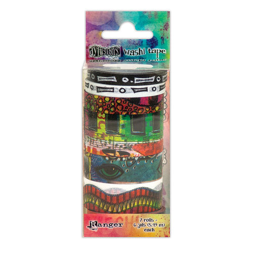 Ranger Dylusions, Washi Tape Set #4