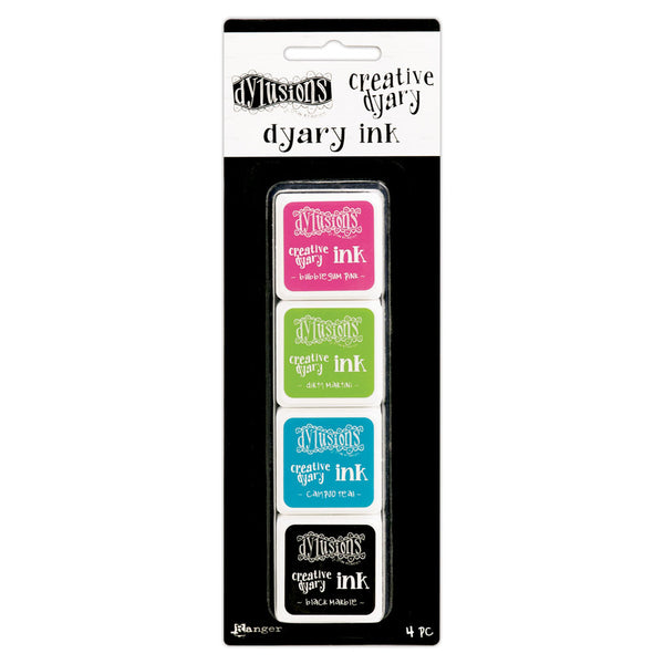 Dylusions Creative Dyary Ink Pads - Scrapbooking Fairies
