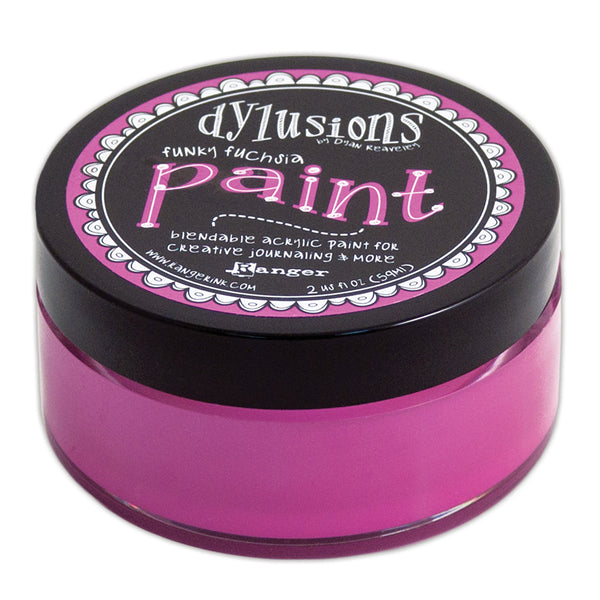 Ranger, Dylusions Paint, Funky Fuchsia