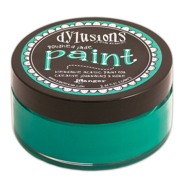 Ranger, Dylusions Paint, Polished Jade