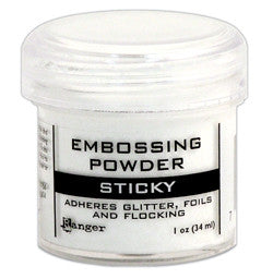Ranger Sticky Embossing Powder 1 Oz. - Scrapbooking Fairies