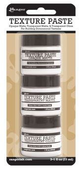 Ranger Texture Paste, 3 Pack - Scrapbooking Fairies