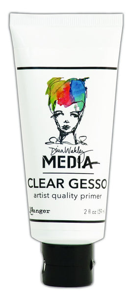 Ranger, Dina Wakley Clear Gesso 2oz. Tube - Scrapbooking Fairies
