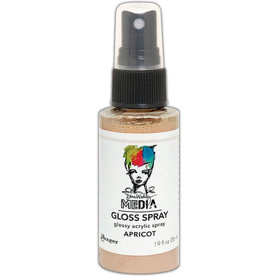 Dina Wakley Media Gloss Sprays 2oz, Apricot