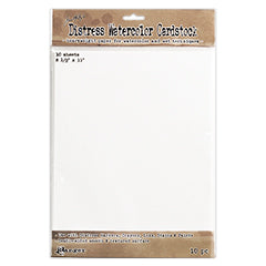 "Ranger, Tim Holtz Distress Watercolor Cardstock 10/Pkg 8.5""X11"""