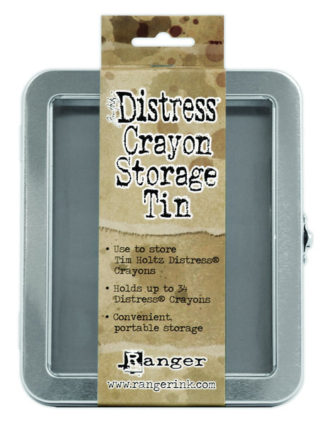 Ranger Tim Holtz, Distress Crayons Storage Tin - Scrapbooking Fairies