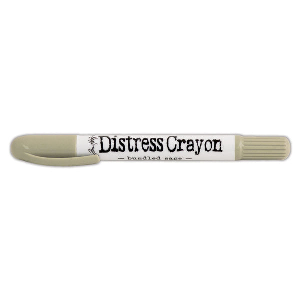 Ranger Tim Holtz Distress, Distress Crayon, Bundled Sage - Scrapbooking Fairies