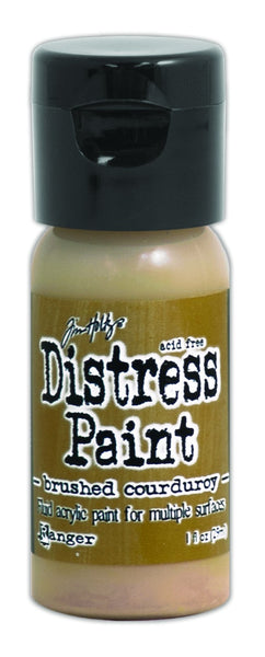 Ranger, Tim Holtz Distress, Distress Flip Top Paint, Brushed Courduroy (1 oz.)