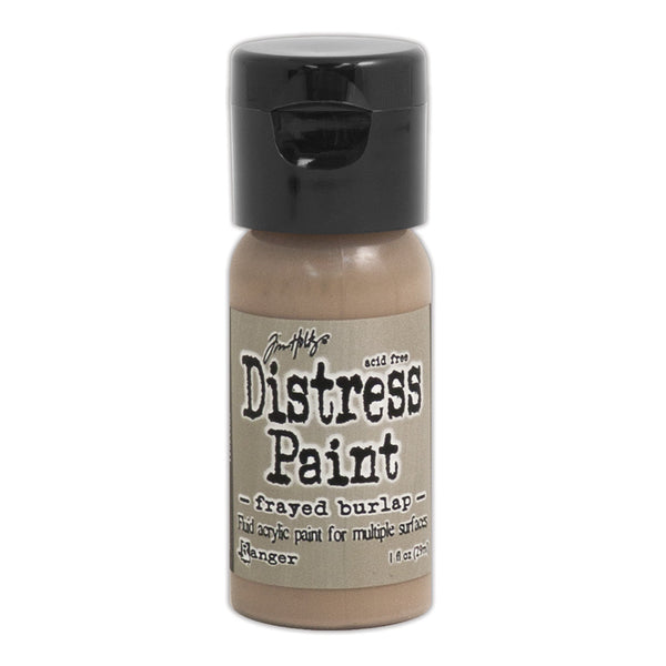 Ranger, Tim Holtz Distress, Distress Flip Top Paint, Frayed Burlap (1 oz.)