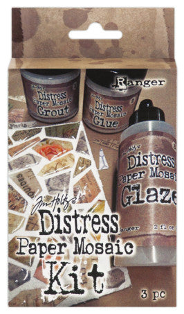 Ranger, Distress Paper  Mosaic Kit (Grout, Glue, Glaze)