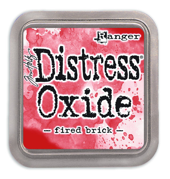 Distress Oxides Ink Pad, Fired Brick - Scrapbooking Fairies