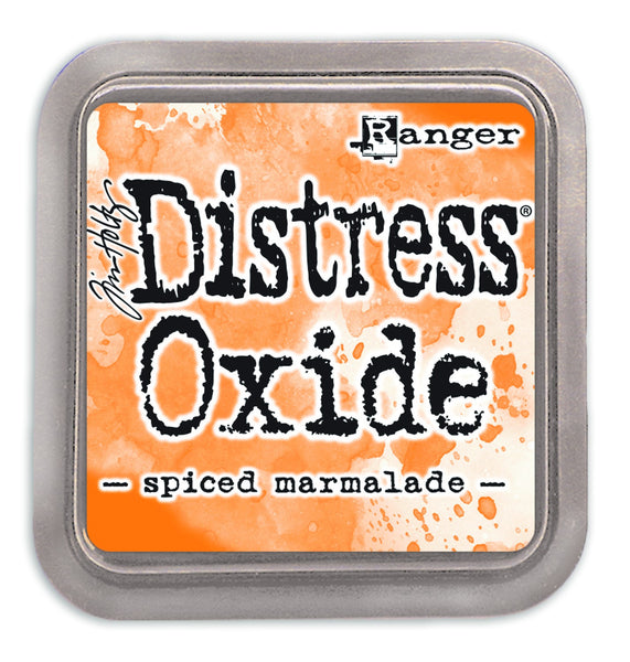 Distress Oxides Ink Pad, Spiced Marmalade - Scrapbooking Fairies