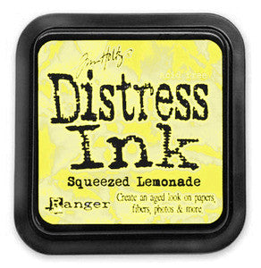 Ranger, Distress Ink Pad, Squeezed Lemonade