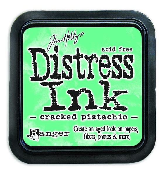 Ranger, Distress Ink Pad, Cracked Pistachio