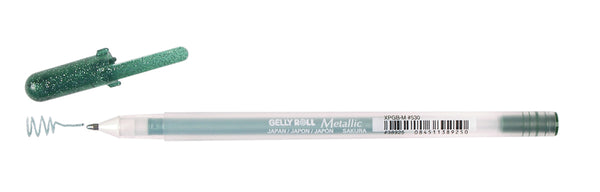 Sakura, Gelly Roll Metallic Medium Point Pen Open Stock, Hunter