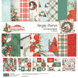 "Simple Stories Collection Kit 12""X12"", Country Christmas"
