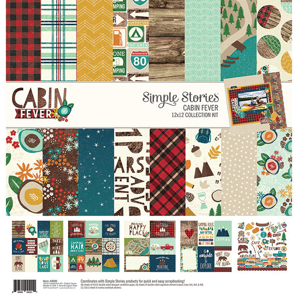 Simple Stories, Collection Kit, Cabin Fever