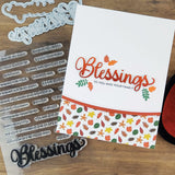 PhotoPlay Say It With Stamps Photopolymer Stamps, Blessings
