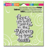Stampendous, In The Bloom Cling Stamp - Scrapbooking Fairies